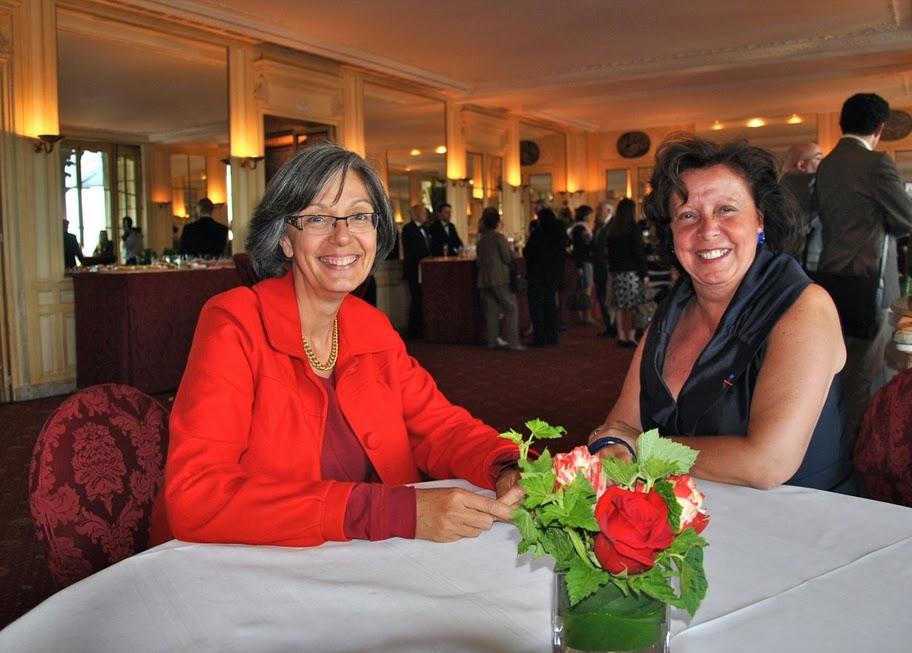 Agnès Bricard à l'AG du CdCF