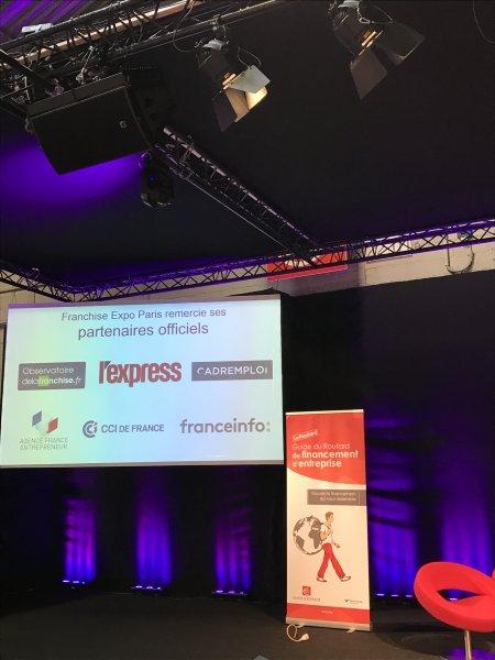 21 mars 2017 intervention d 39 agn s bricard au salon de la for Salon de la franchise paris 2017