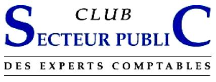 Logo : Club du secteur public des experts comptables
