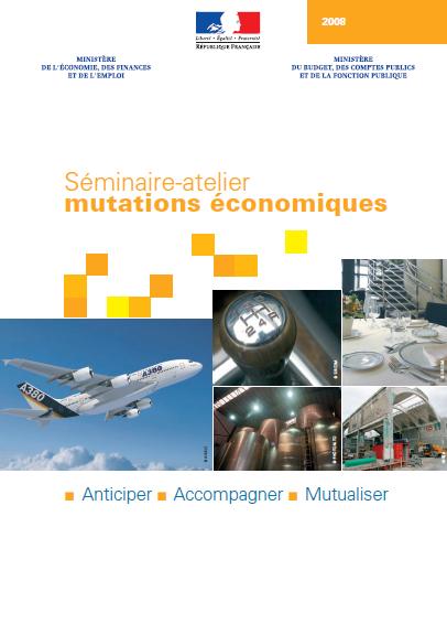 """Plaquette de présentation du séminaire """"Mutations économiques"""""""