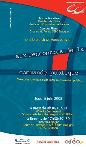 Rencontres de La Commande Publique en Région