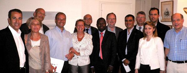 Equipe de campagne d'Agnès Bricard