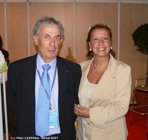 Jacques Diemer et Agnès Bricard