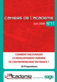 Téléchargez le cahier n°11 de l'Académie des Sciences et Techniques Comptables et Financières dans lequel ont été publiées les 30 mesures.