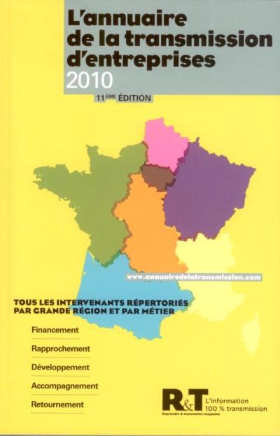Annuaire 2010 de la Transmission d'Entreprise