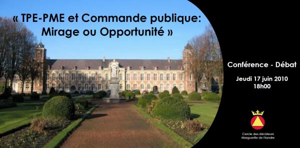 TPE-PME et Commande publique : mirage ou opportunité ?