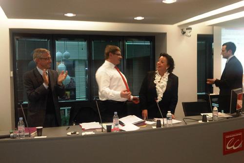 Election d'Agnès Bricard comme Présidente du CSOEC