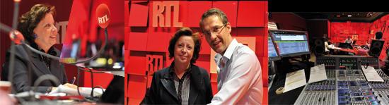 Agnès Bricard en direct chez Julien Courbet pour une émission spéciale déclaration de revenus