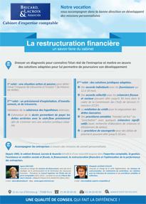 La restructuration financière : une spécialité du cabinet Bricard, Lacroix & Associés