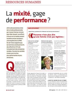 Interview d'Agnès Bricard parue dans DAF magazine n°18 – juin / août 2014