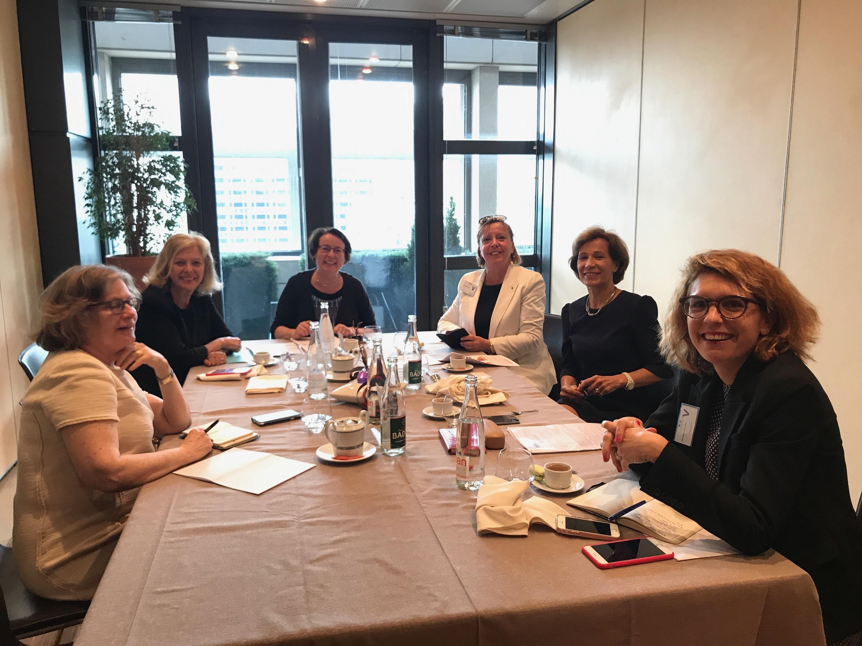Mardi 4 juillet 2017: réunion du bureau de la fédération femmes