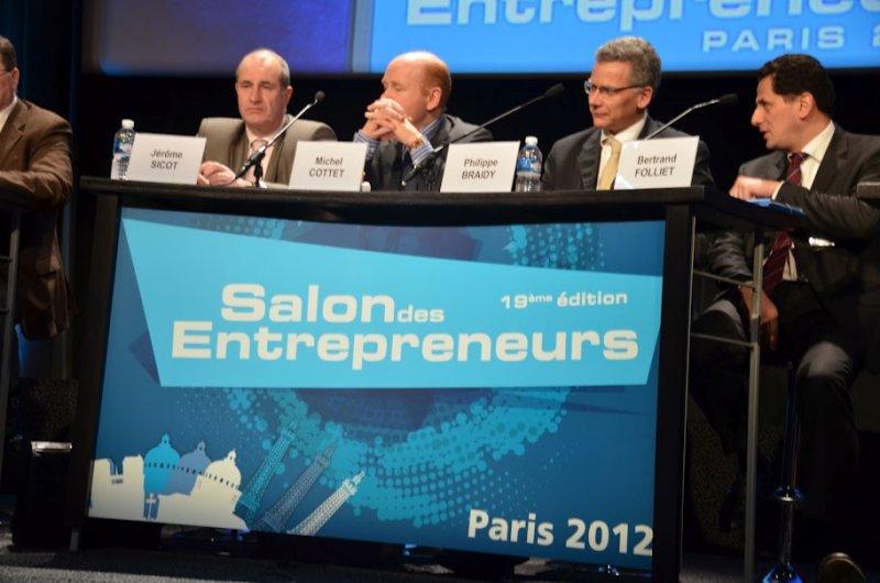 Pr sence des experts comptables au salon des entrepreneurs for Salon des entrepreneurs paris