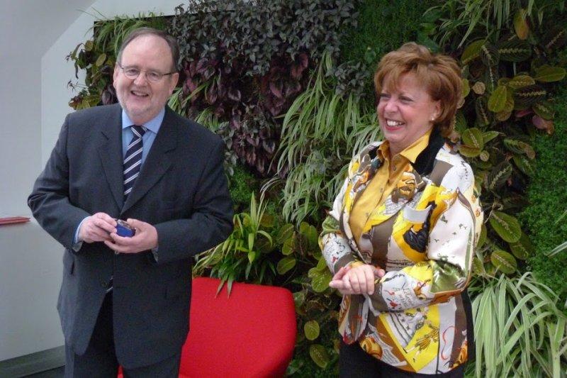 Remise de la médaille de l'Ordre des Experts-Comptes au CSOEC